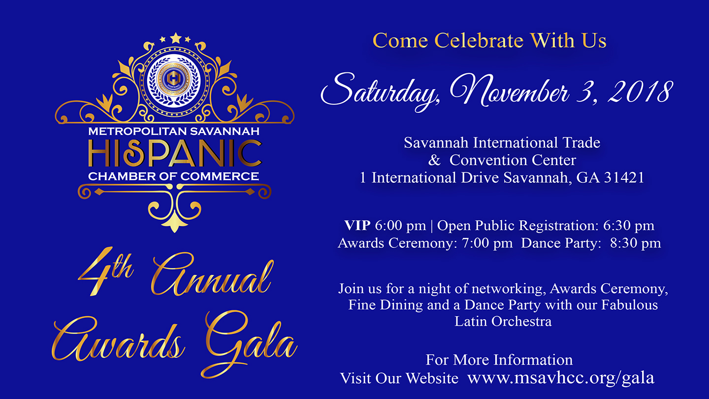 Savannah Hispanic Chamber 2018 Annual Awards Gala