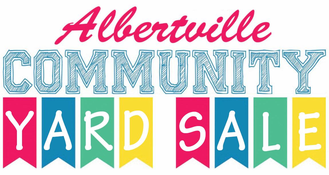 Albertville Community Yard Sale, 4th weekend in September