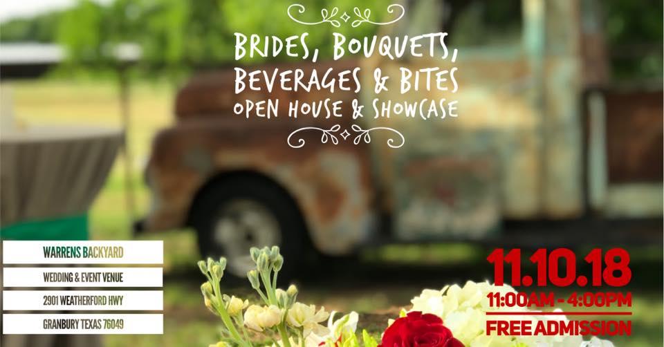 Brides Bouquets Beverages Bites Open House And Showcase Nov