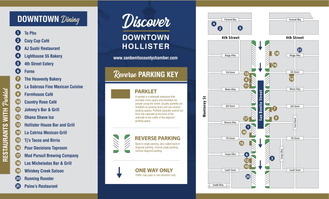Discover Downtown Hollister