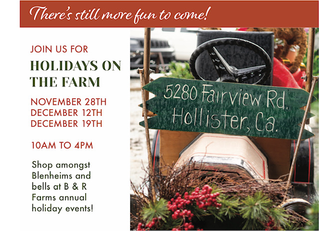 Holidays on the Farm 2020