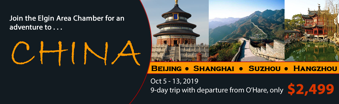 Elgin Area Chamber China Trip 2018