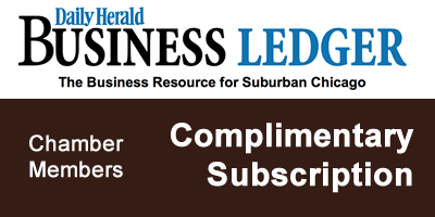 Elgin Chamber Members receive a Complimentary Subscription to Daily Herald Business Ledger