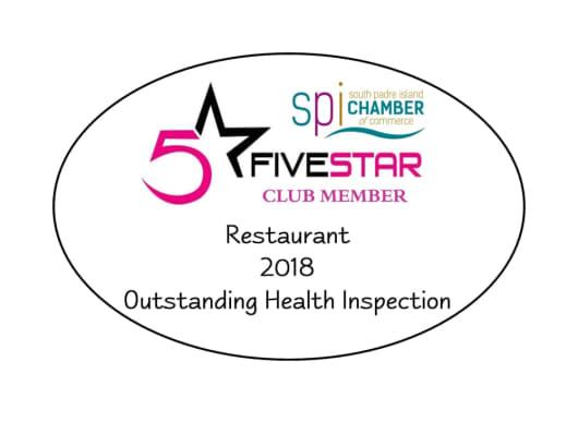 FiveStar Club Member 2018
