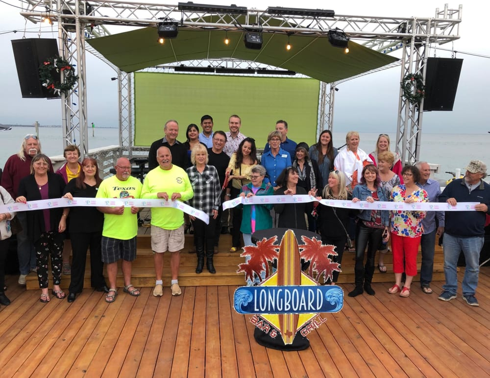 LongBoard Bar & Grill Ribbon Cutting