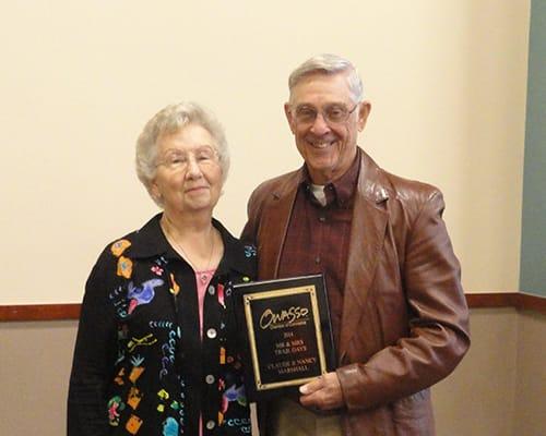 2014 - Claude and Nancy Marshall