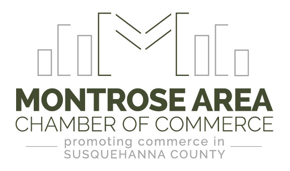 Montrose Area Chamber of Commerce Logo - Montrose, Susquehanna County, PA