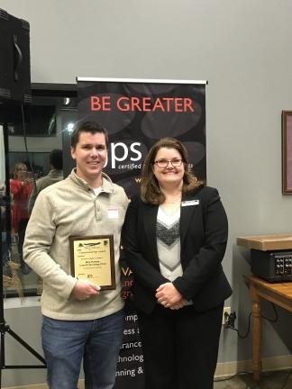 Ben Patton Land Surveying, Tom Johnson Entrepreneurship Award Recipient