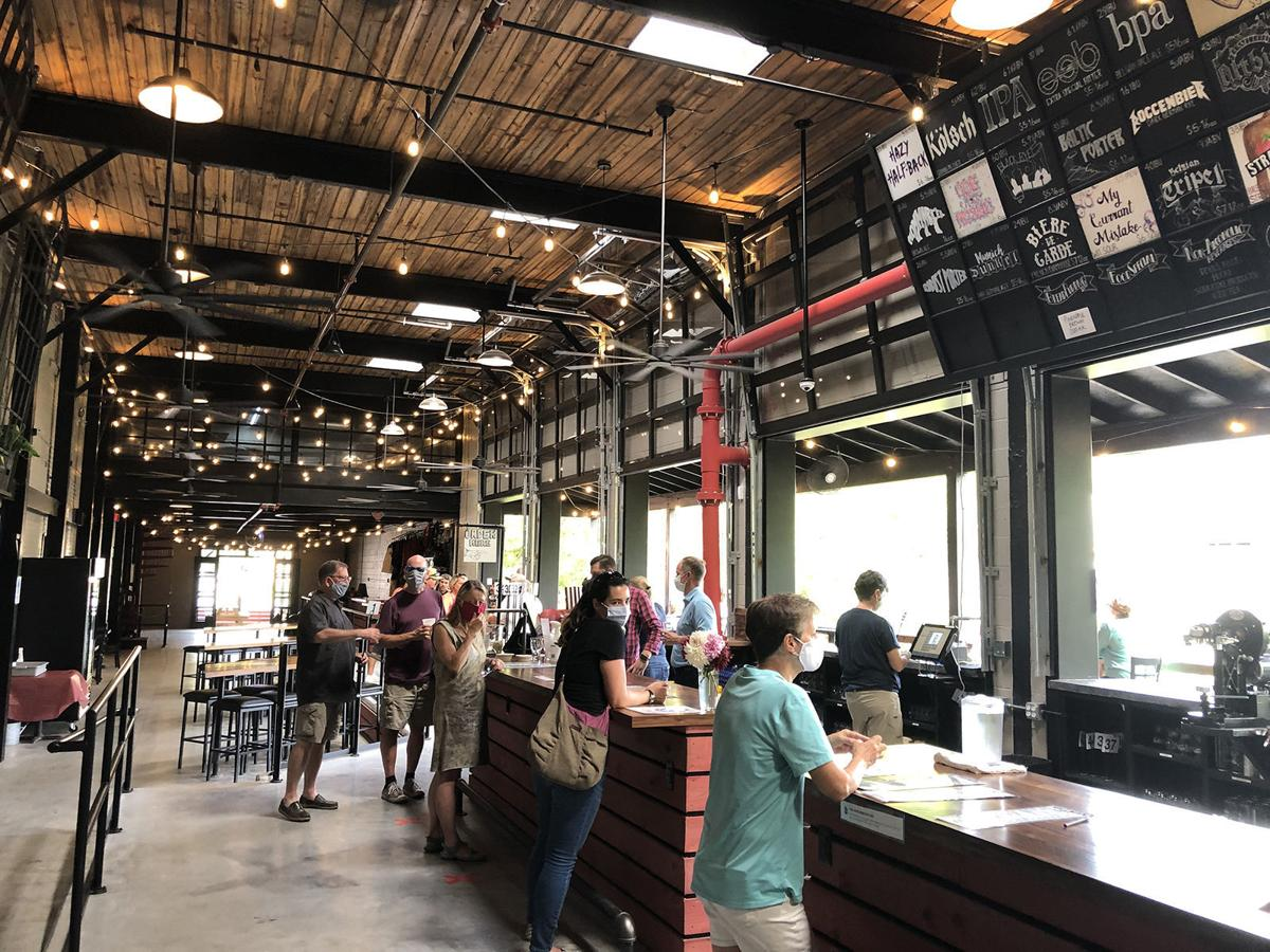 Hillman Brewery in Old Fort welcomes the four-legged friends and offers a great place to refresh with a cold one.