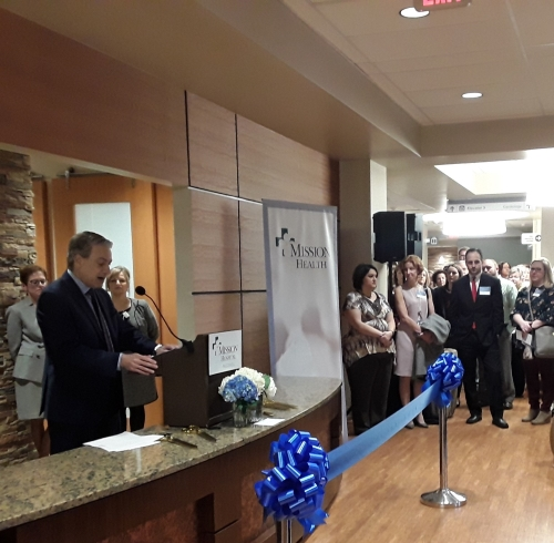 McDowell Chamber of Commerce celebrates Mission Hospital McDowell's Ribbon Cutting.