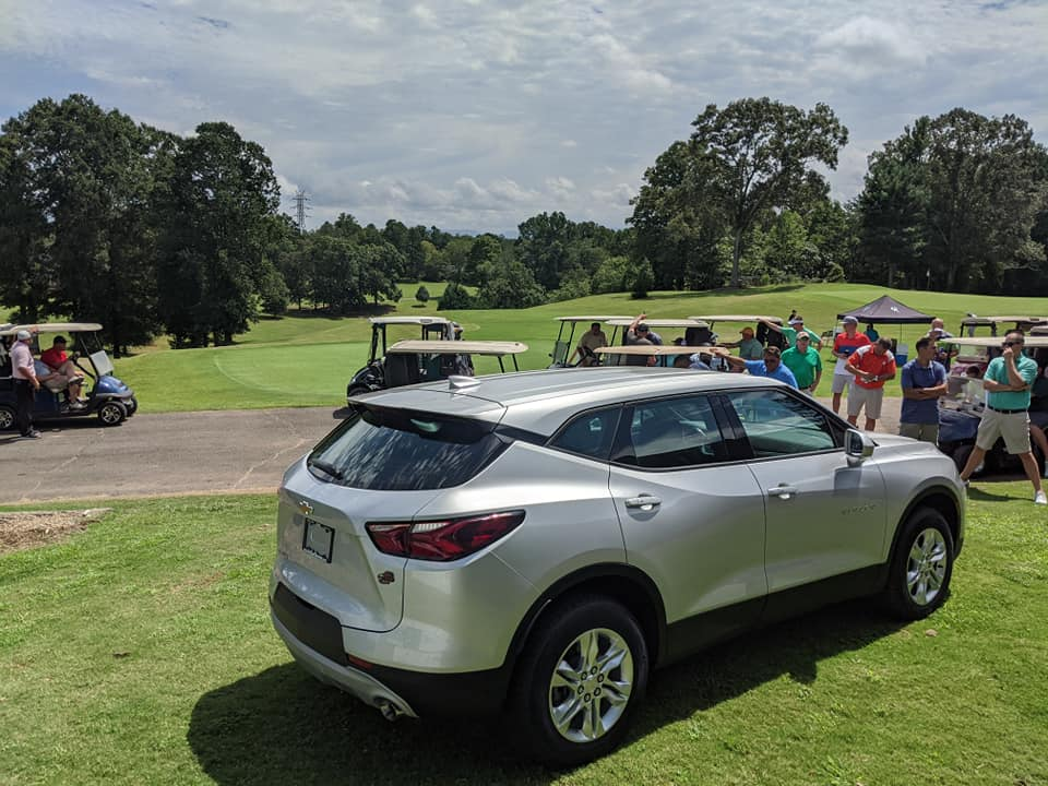 Jim Cook Chevrolet Sponsor's the car giveaway for a Hole-in-One each year!