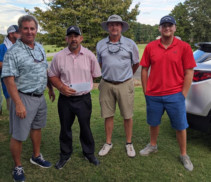 Team Pepsi Wins First Place First Flight at Chamber Golf Tournament