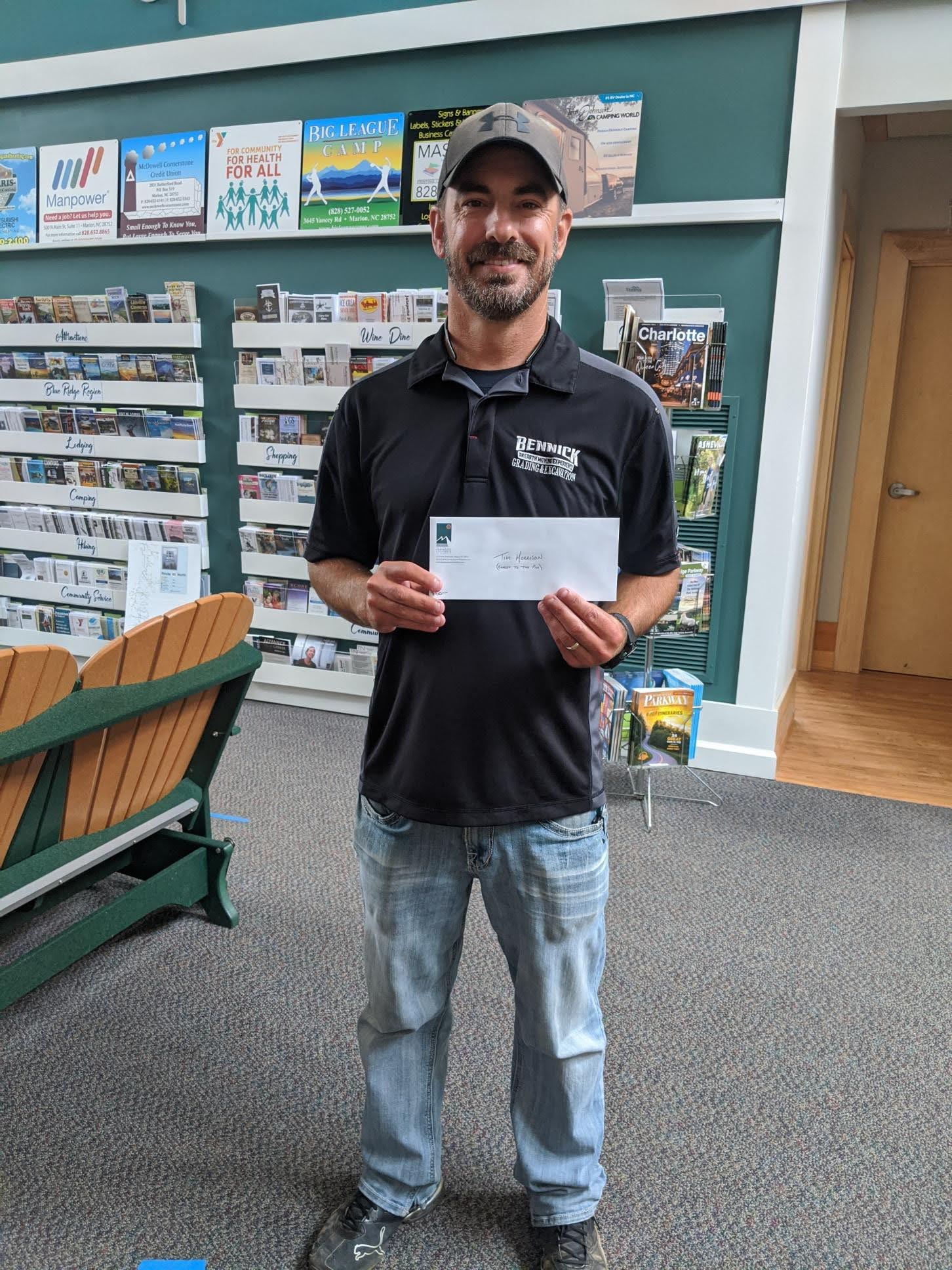 Tim Morrison of Hendersonville wins Closest to the Pin