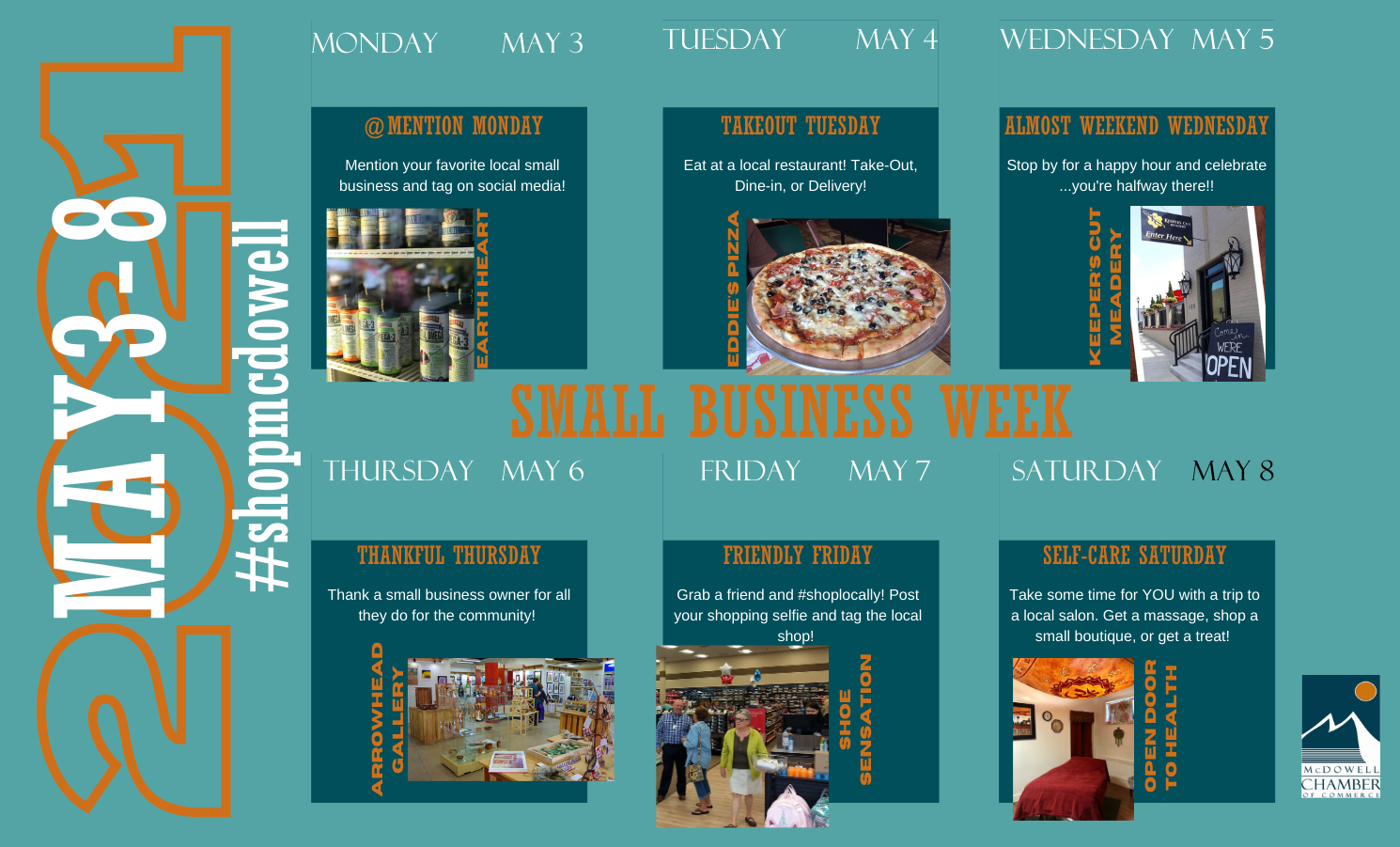 National Small Business Week May 3-9, 2021