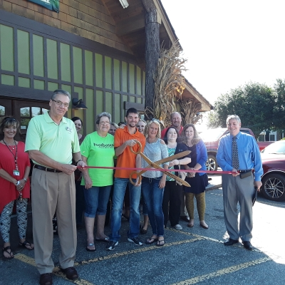McDowell Chamber officials, Ambassadors, staff along with city officials came out to celebrate the opening of Boondock's Sports Bar & Grill.