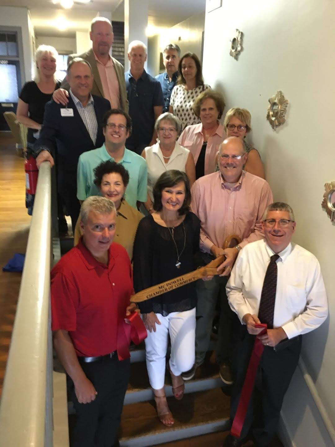 Retirement Resource Management Ribbon Cutting McDowell Chamber of Commerce