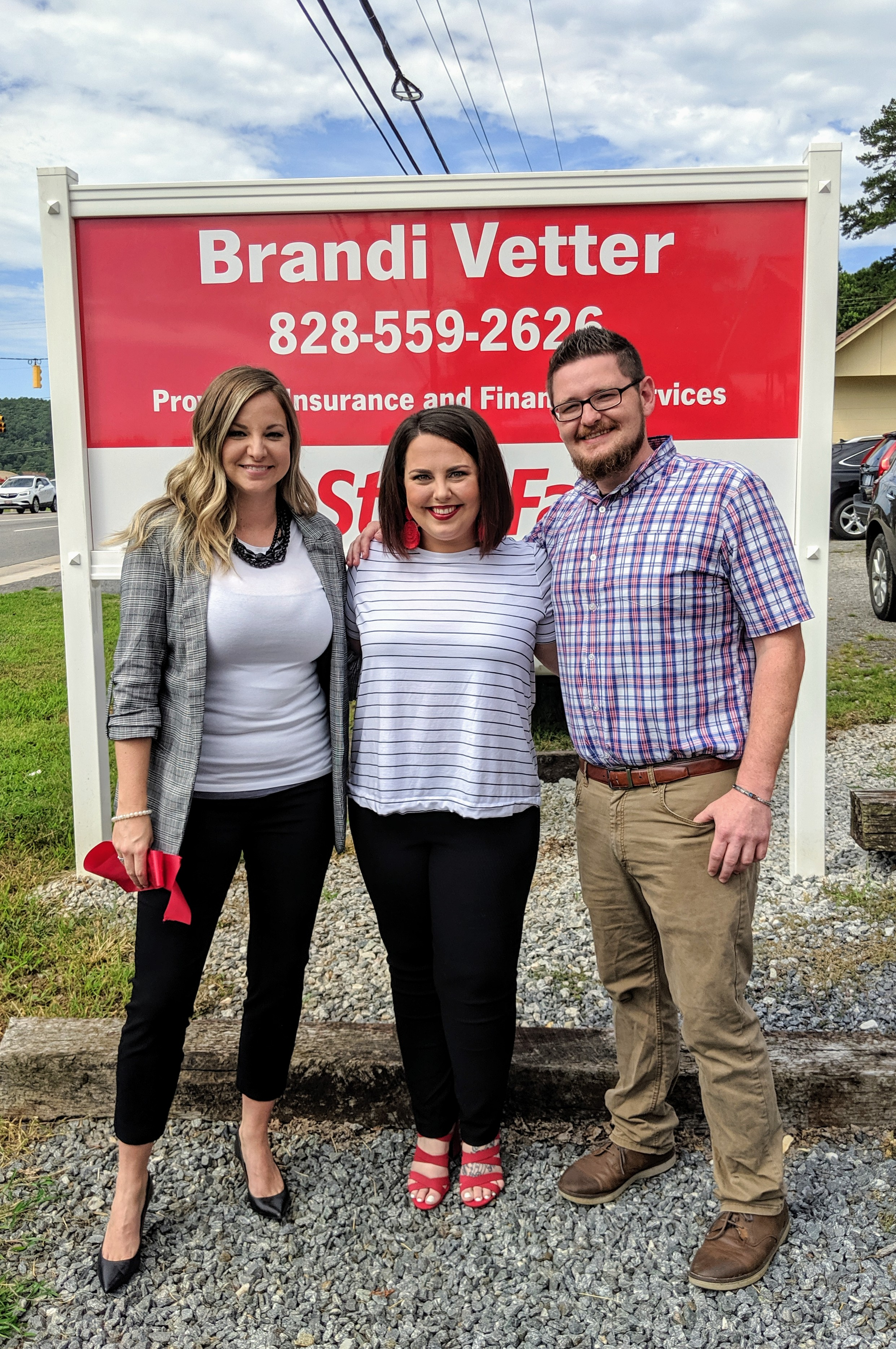 Pictured (L to R):  Brandi Vetter, Lauren Waddle, Jonathan Williams
