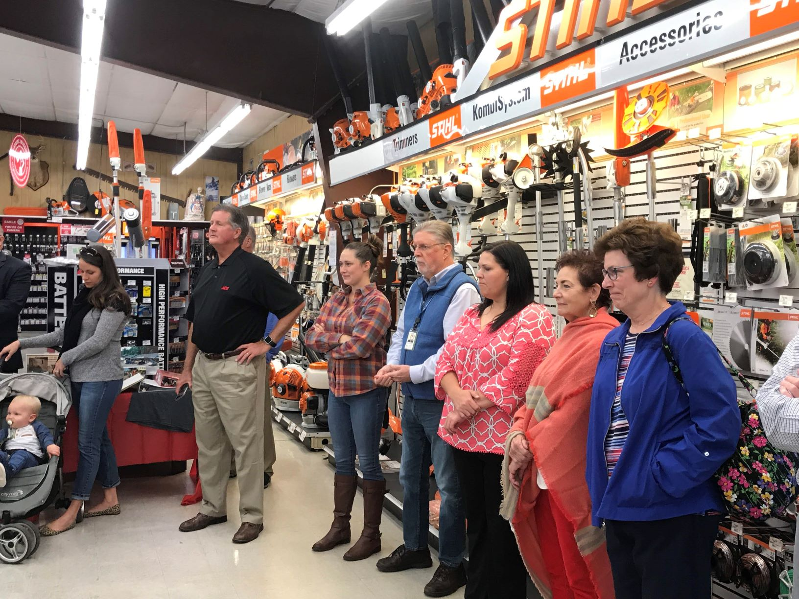 Spencer's ACE Hardware celebrates 35th Anniversary in Marion, NC