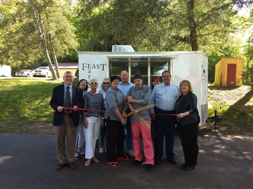 Feast Eats at South Creek McDowell Ribbon Cutting