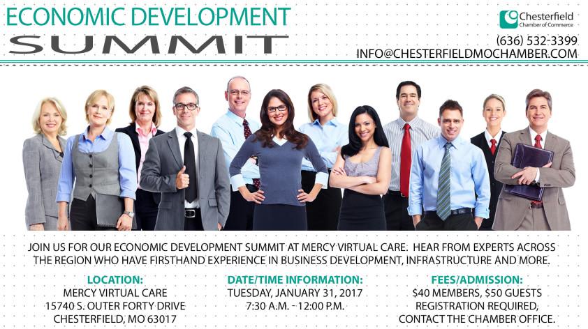 Economic Development Summit Chesterfield Mo