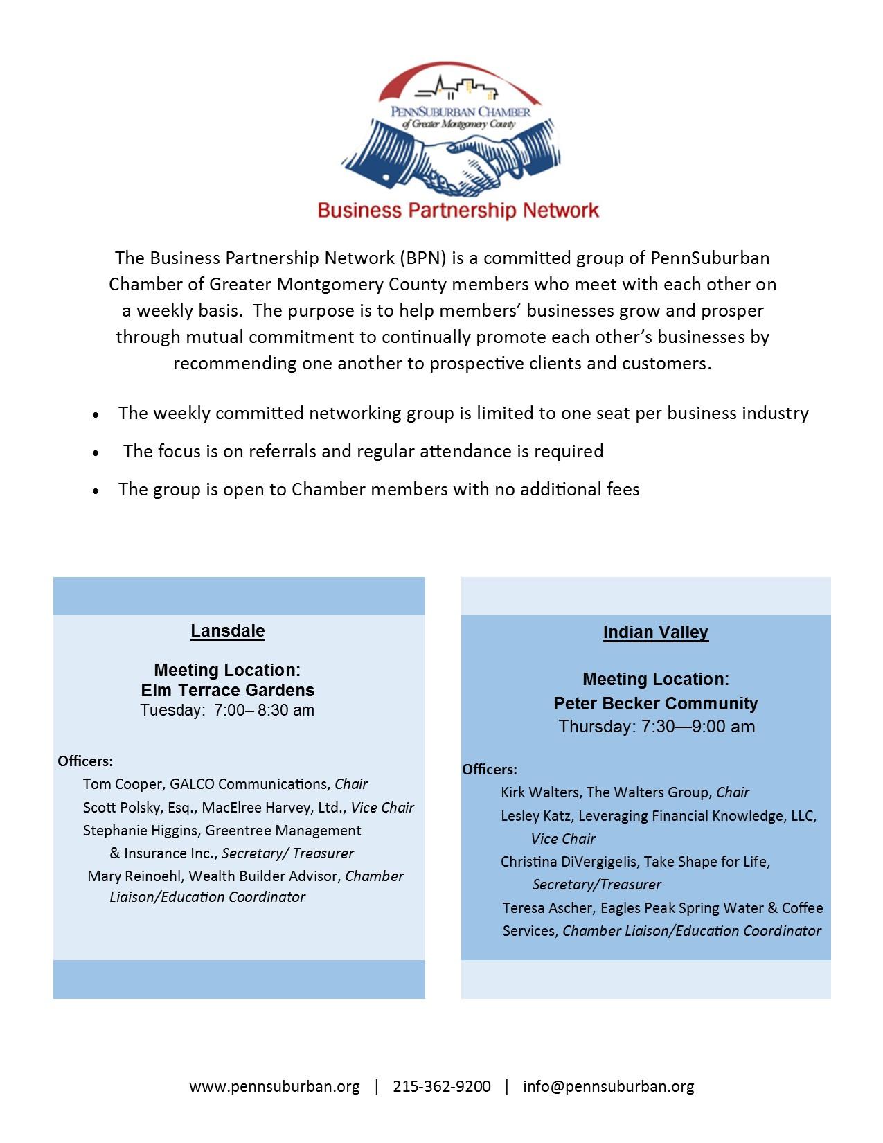 BPN Info Flyer