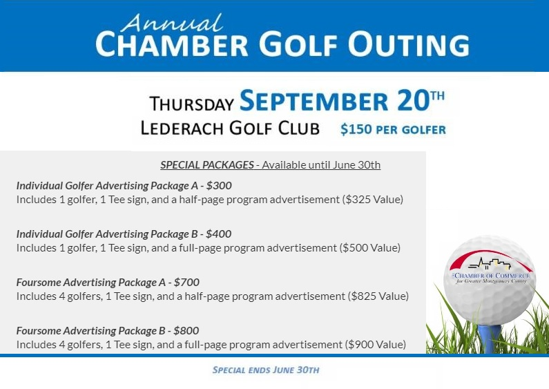 Early Bird Chamber Golf Advertising Packages