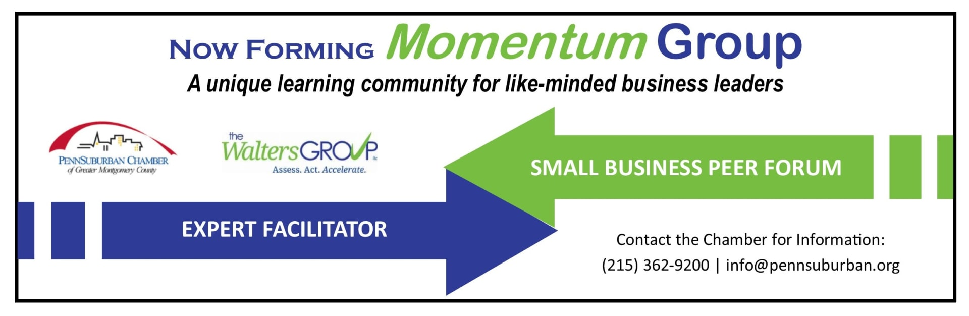 Momentum Group Small Business Peer Forum Expert Facilitator