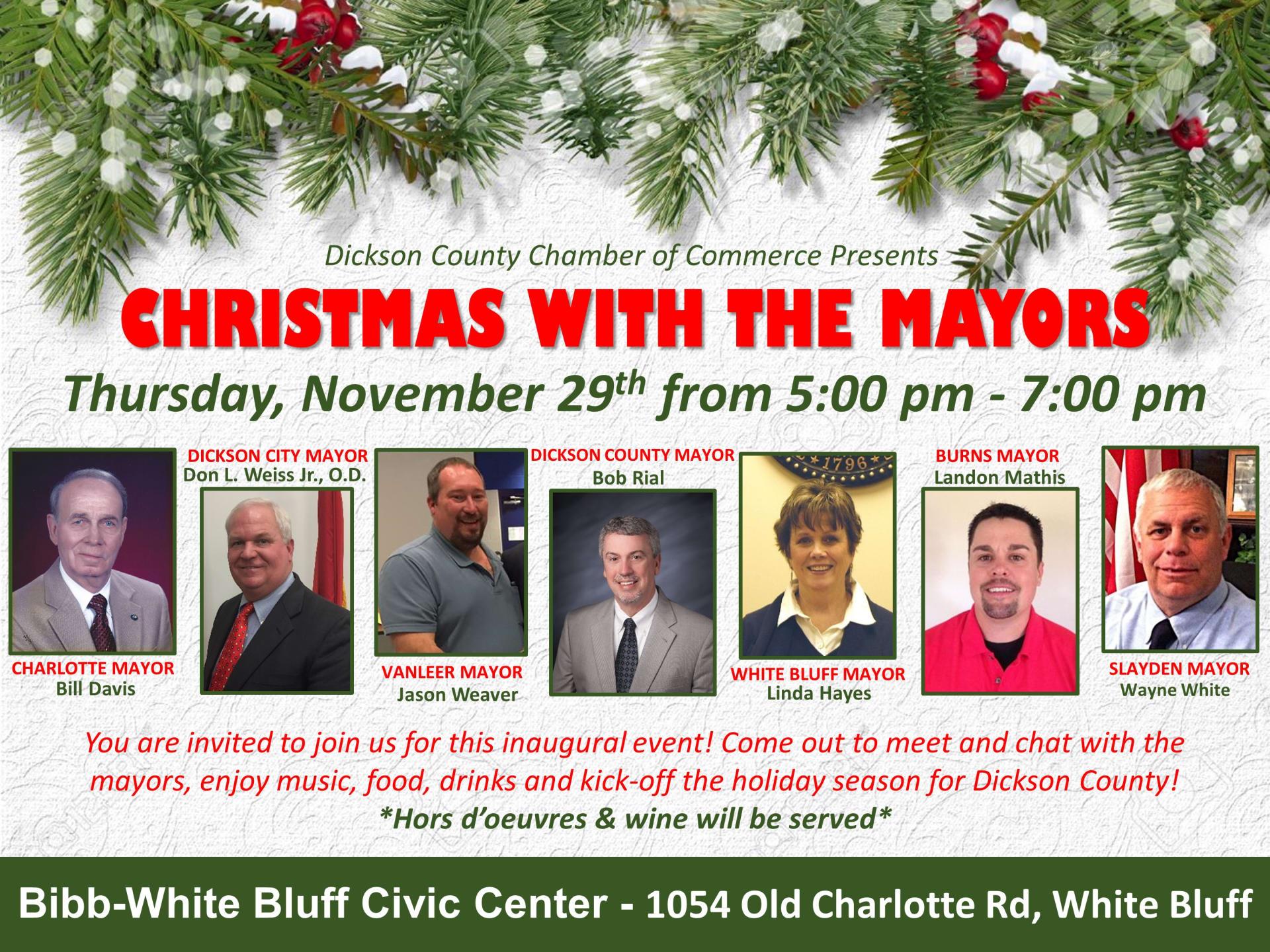Christmas-with-the-Mayors-Dickson County