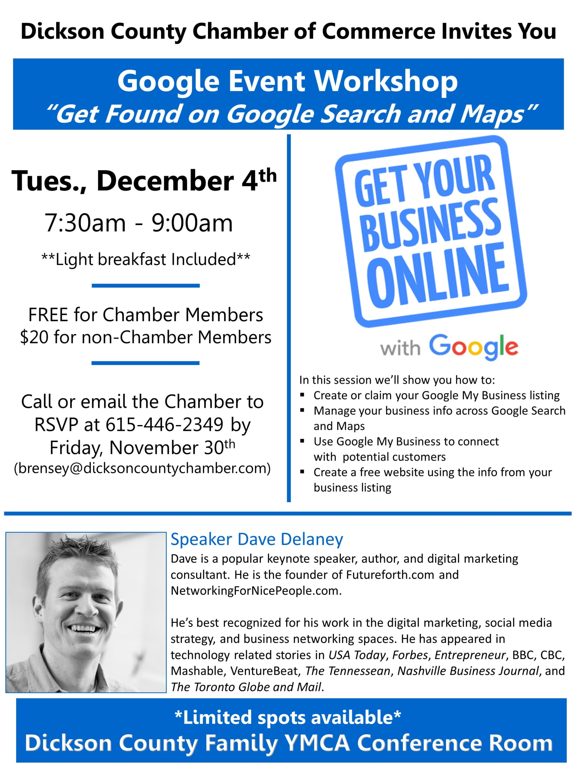 Google Event - Dickson, TN 37055