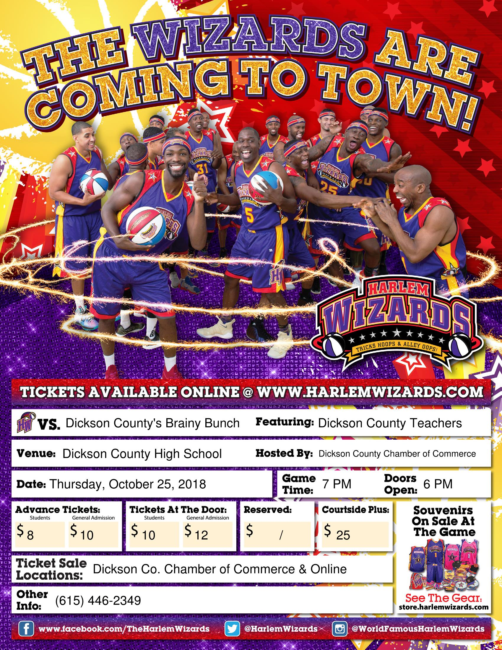 Harlem Wizards - Dickson County