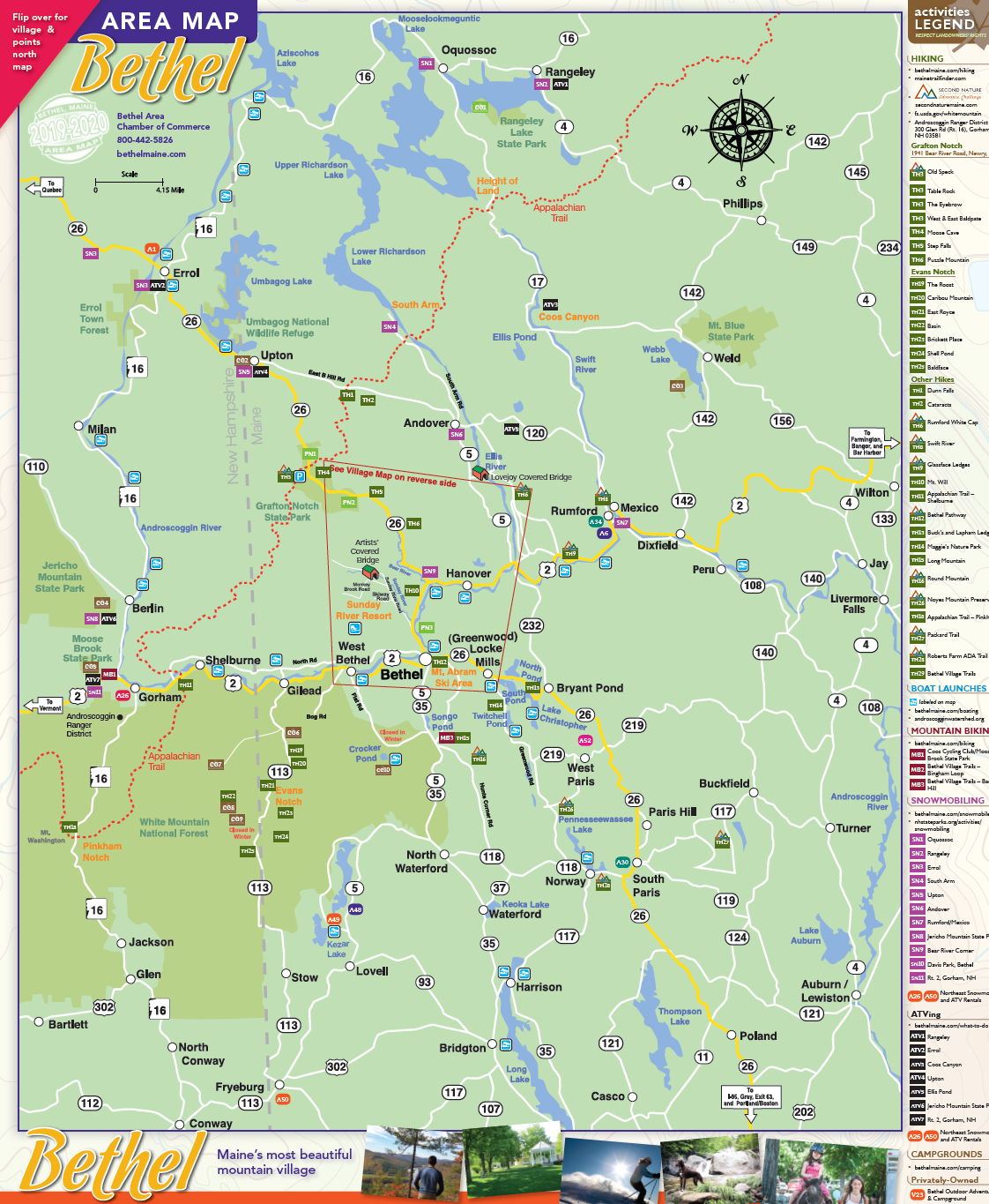 Area Map 2021