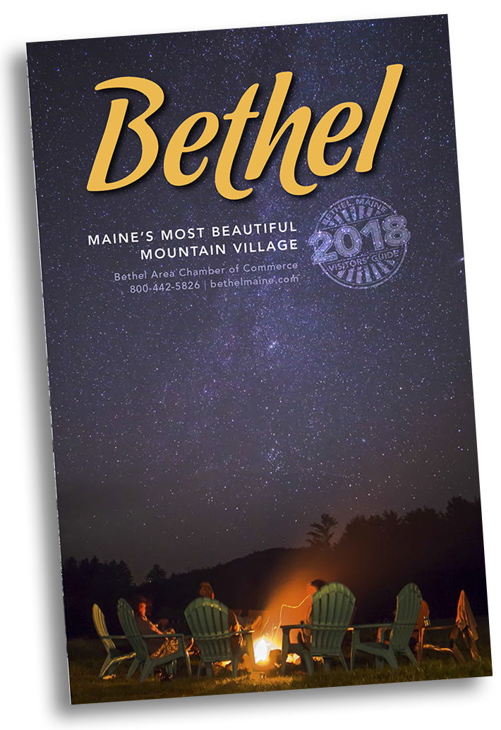 2018 Bethel Area Visitors' Guide cover