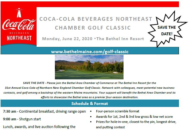 Coca-Cola Beverages Northeast Chamber Golf Classic