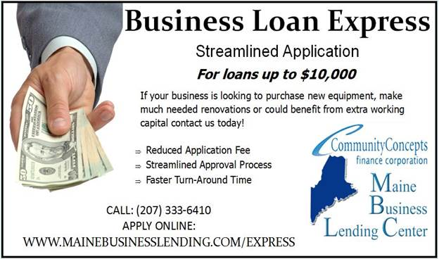 Maine Business Lending Center Business Loan Express
