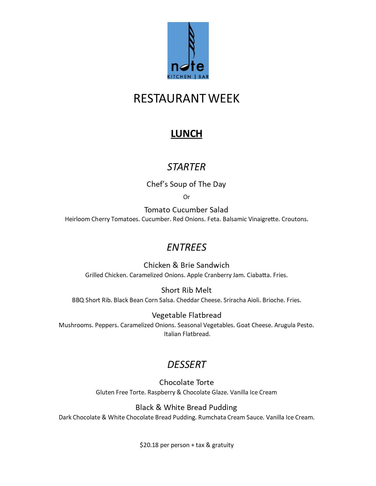 Bethel Restaurant Week 2018 | Connecticut Restaurant Week
