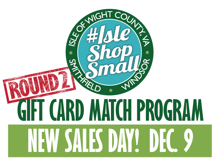 #IsleShopSmall Gift Certificate Program Official Press Release