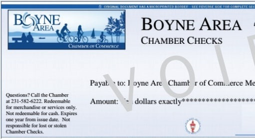 Chamber Checks: A great gift!