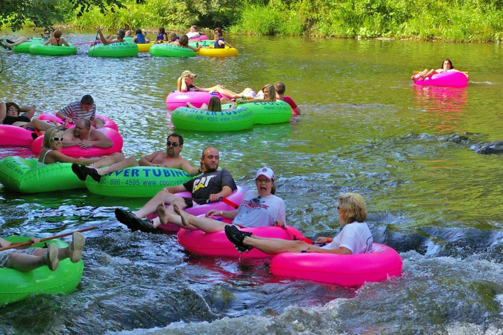 Tubing, Kayaking & Canoeing