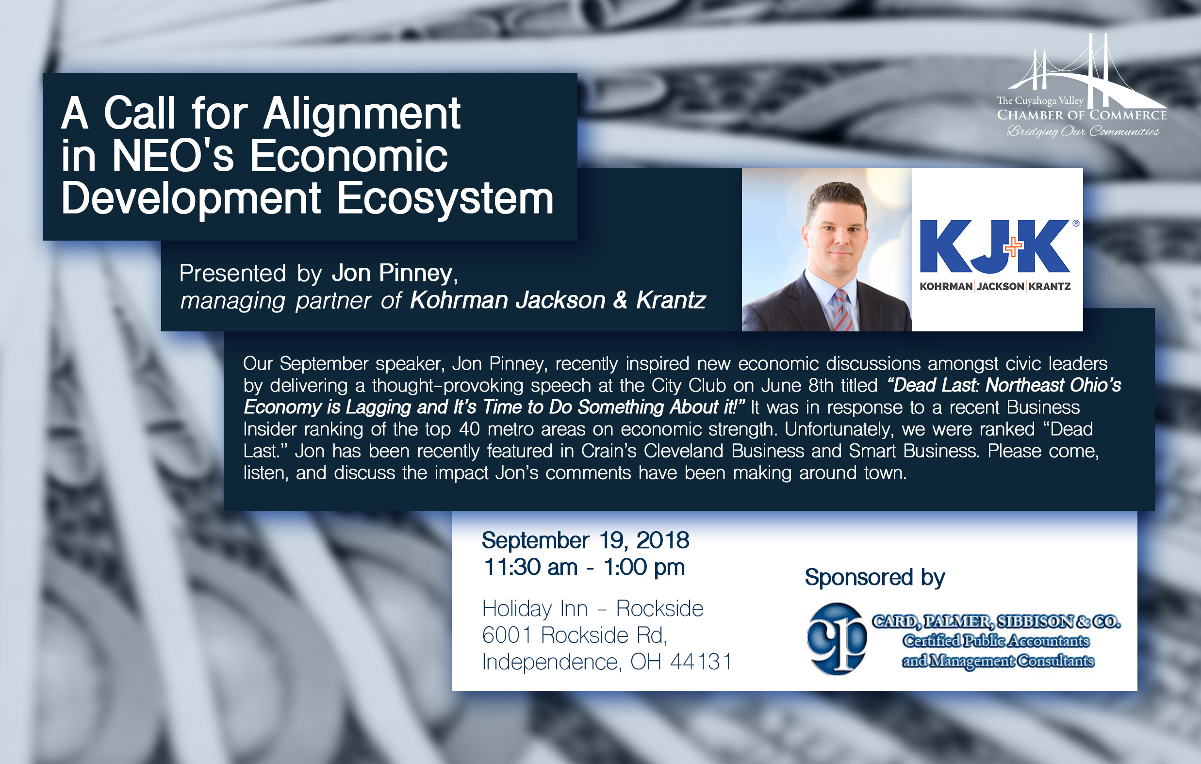 Cleveland Economic Speaker