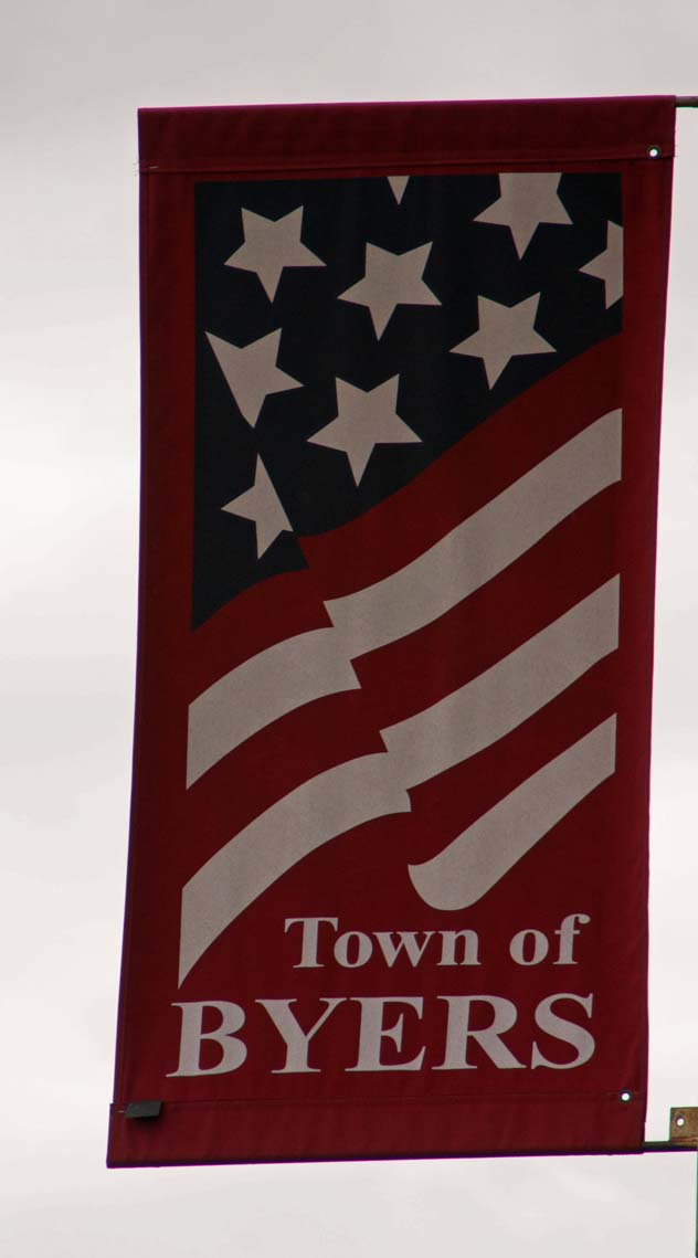 Byers 4th of July Flag
