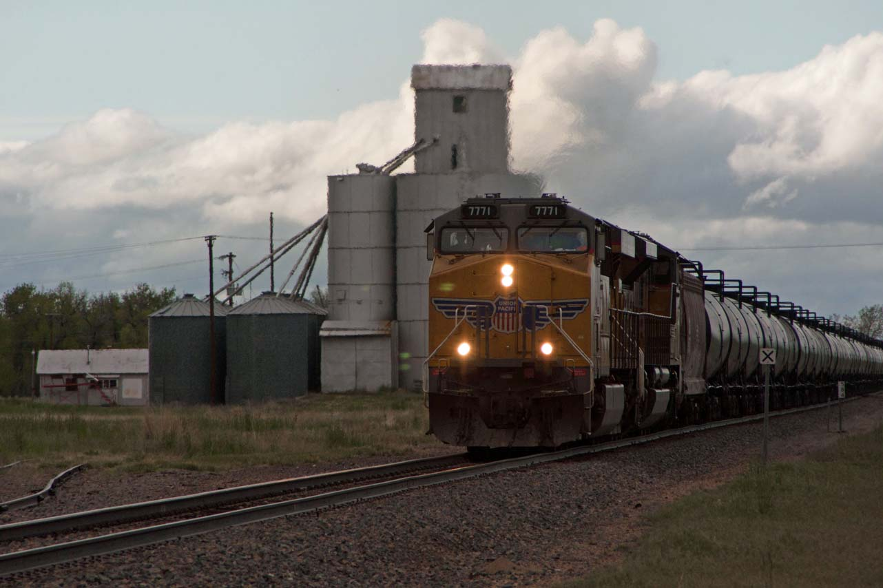 Trains along the I-70 Corridor
