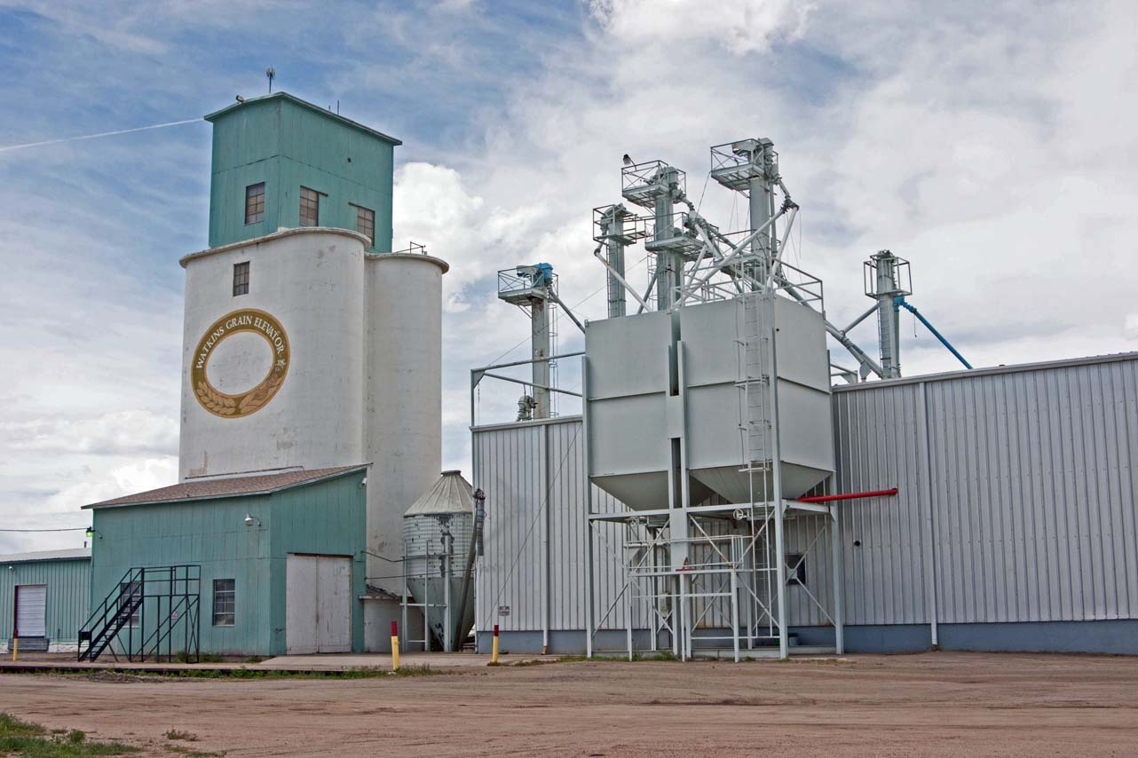 This Sunflower seed processing plant is located in Watkins.