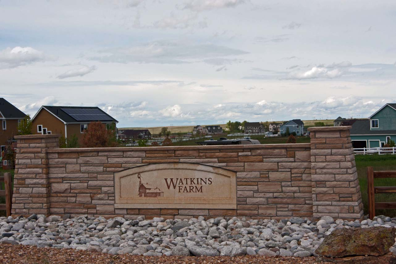 Watkins Farm, a neighborhood of over 50, 2.5 acre plots