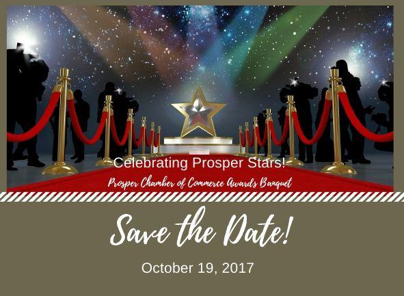 2017 Prosper Chamber Awards Banguet