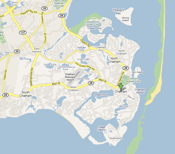 Chatham Ma Map Travel Tips   Chatham Chamber of Commerce, MA
