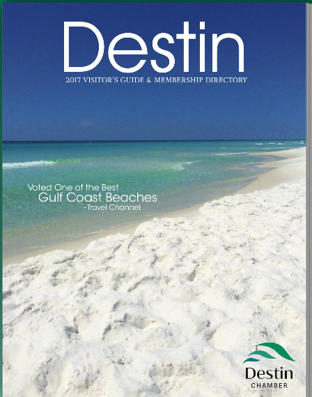 2017 Destin Area Visitors Guide & Membership Directory