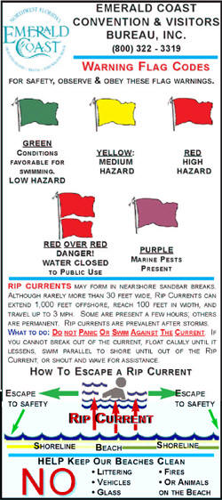 Beach Safety & Flag Code