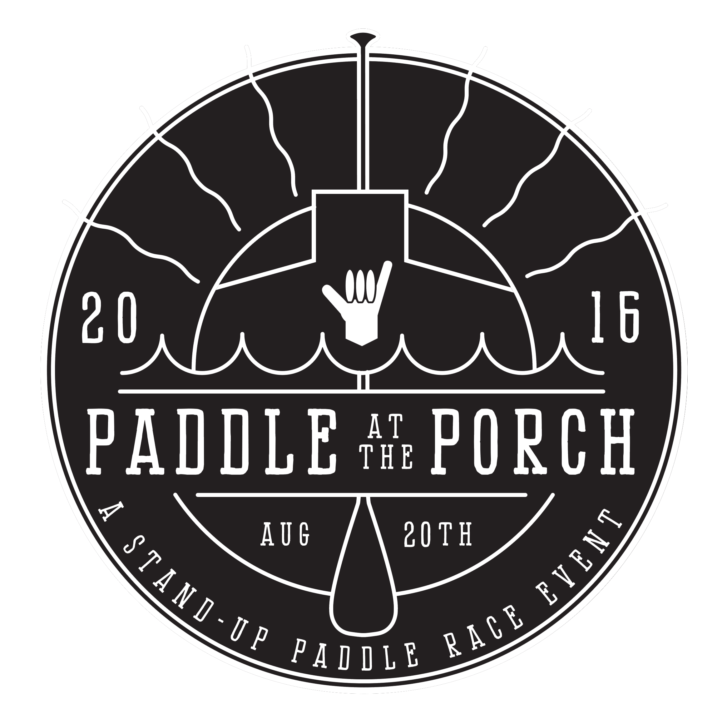 Paddle at the Porch Logo
