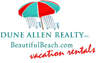 Dune Allen Realty Vacation Rentals Logo