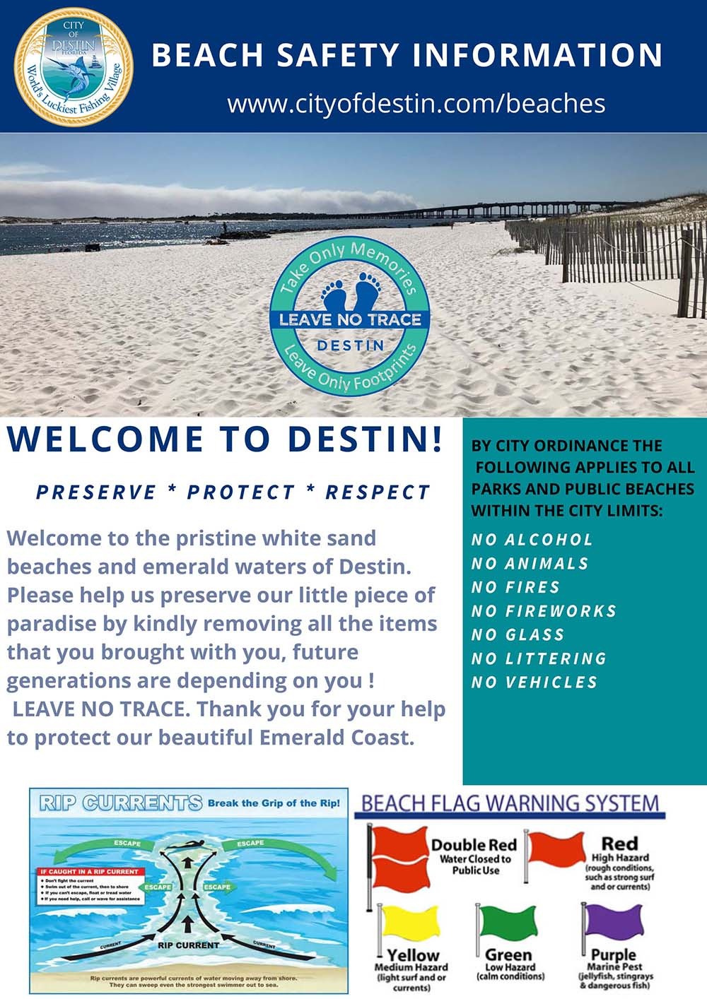 Destin Beach Safety
